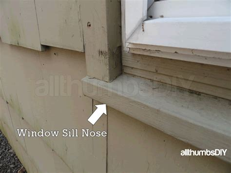 Exterior Window Sill Nose by Window Sill Trim Exterior Exterior Window Sill Trim