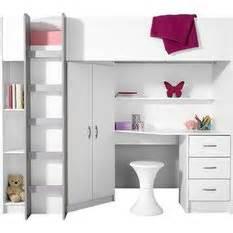 Lit Mezzanine Avec Armoire Intégré lit mezzanine avec plan de travail armoire 233 tag 232 res