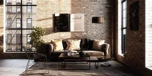 Wohnzimmer Industrial Style : industrial style living room design the essential guide ~ Whattoseeinmadrid.com Haus und Dekorationen