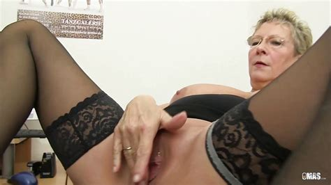 Xxx Omas Blonde German Granny Loves Dirty Office Sex