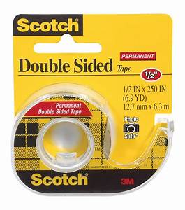 Scotch Double Face : scotch permanent double sided tape 5 x250 jo ann ~ Melissatoandfro.com Idées de Décoration