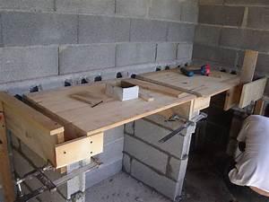 Faire Un Plan De Travail : comment faire un plan de travail en beton maison design ~ Dailycaller-alerts.com Idées de Décoration