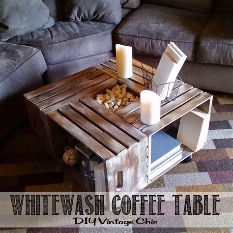 Diy wooden wine crate coffee table lees summit lifestyle magazine. DIY Vintage Chic: Vintage Wine Crate Coffee Table (You can ...