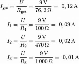 Reihenschaltung Stromstärke Berechnen : reihen und parallelschaltungen grundwissen elektronik ~ Themetempest.com Abrechnung