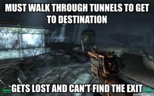 Fallout 3 Memes - fallout 3 tunnels