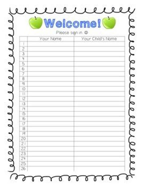 1000 Ideas About Sign In Sheet On Open House 1000 Ideas About Sign In Sheet On Open House