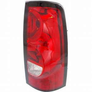 For Chevy Silverado 2500 Tail Light 2004 Passenger Side
