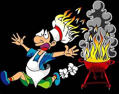 Clipart Bbq Fire Graphics Labor Clip Barbecue