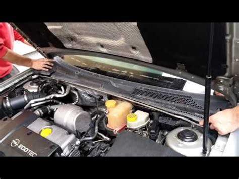 opel vectra  wiper motor removal youtube