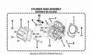 Homelite Ps9c3501b Powerstroke 3 500 Watt Generator Parts Diagram For General Assembly  Cylinder