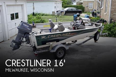 Crestliner Boats For Sale In Wisconsin by Canceled Crestliner 1600 Angler Boat In Milwaukee Wi
