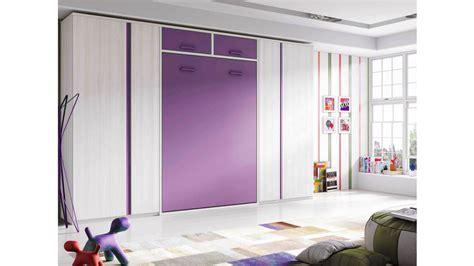 lit armoire escamotable vertical avec rangements