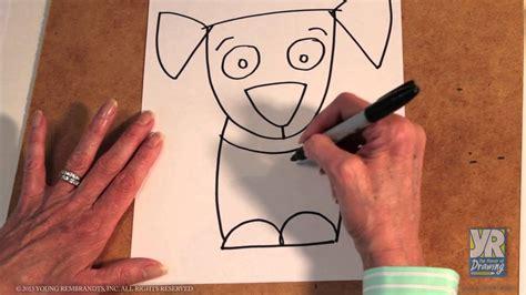 teaching kids   draw   draw  puppy youtube