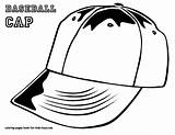 Coloring Baseball Pages Hat Cap Boys Printable Mlb Colouring Print Bubble Hats Colour Caps Letter Clothing Basketball Players Sports Letters sketch template