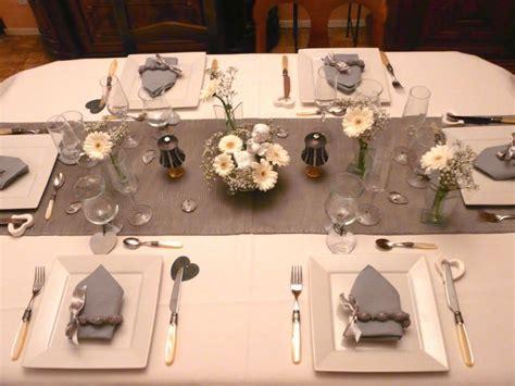 deco de table gris et blanc p1030866 photo de table blanche et grise deco de tables