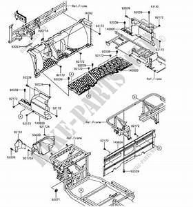Kawasaki Mule Pro Fxt Parts Diagram