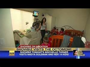 Inside 'Octomom's' home - YouTube