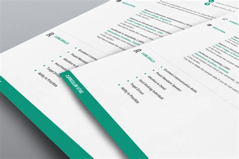 photo resume template word flat 50 use coupon resume50