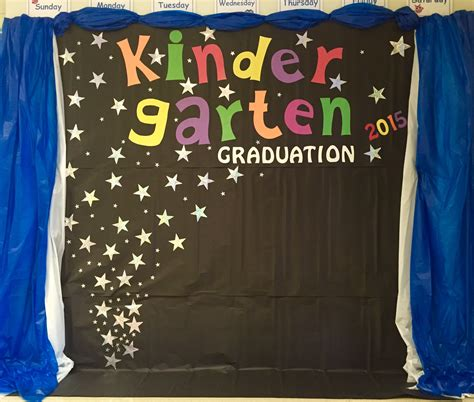 kindergarten graduation backdrop door wall decoration 811 | 057184afa859dbaac6642ab600b36aaa