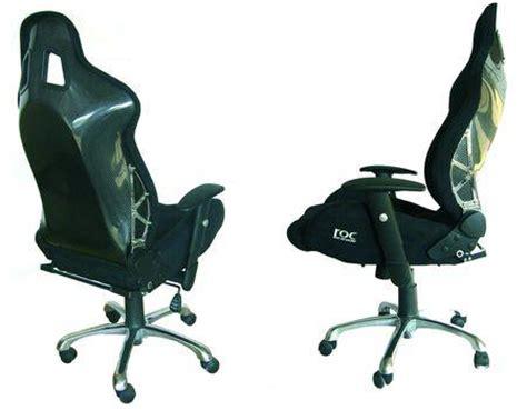 siege de bureau baquet un siège baquet en guise de fauteuil de bureau à découvrir