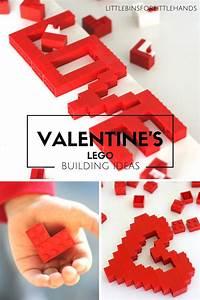 LEGO Valentines Day Building Ideas for Kids STEM  Valentines