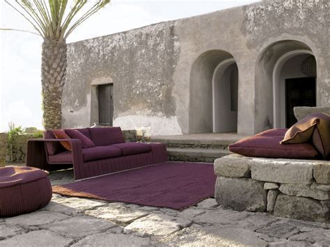 Modern Furniture With A Touch Of Purple By Paola Lenti