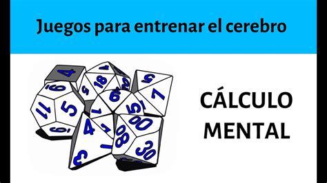 Los ejercicios y problemas matemáticos. Juegos de cálculo mental rápido - Trucos para entrenar el ...