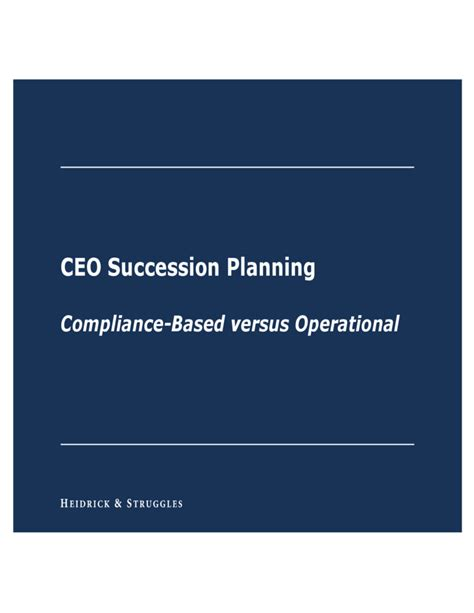 Ceo Succession Planning Template by Ceo Succession Planning Template Free