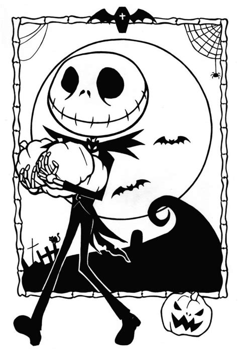 things 3 disegni da colorare free printable nightmare before coloring pages