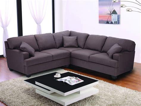 canapé d angle marron canapé d 39 angle tissu 5 places quot alina quot marron 62149