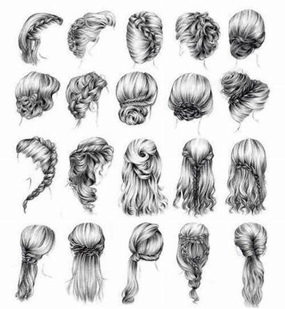 Girly Hairstyles Hair Braids Perfect Braided Drawing