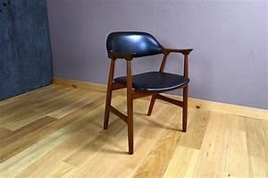 Fauteuil Bureau Scandinave : fauteuil de bureau design scandinave en teck vintage 1960 ~ Teatrodelosmanantiales.com Idées de Décoration