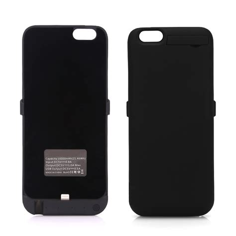external battery for iphone 6 10000mah external battery charger cover power pack