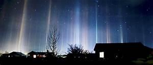 January Phenomenon  The Puzzle Of Light Pillars      Center