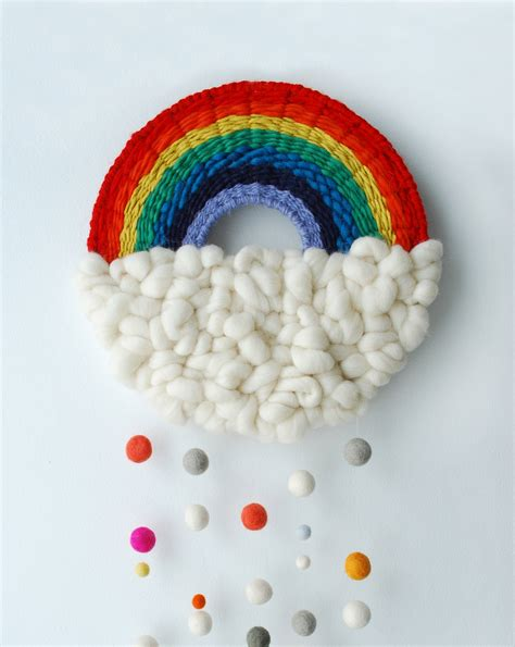 craft tutorial   rainbow weaving   scout