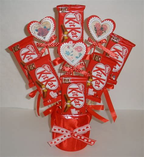 Valentine's Day Candy Bouquet Fun Family Crafts