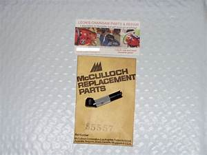 Nos Mcculloch Mac 110  120  130  140  160s Chainsaw Manual