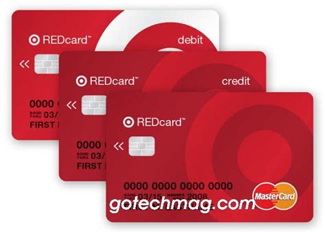 The target debit card offers the same 5% savings benefit as the credit card. Target RedCard Login in 2020 | Credit card, Store credit cards, Cash rebates