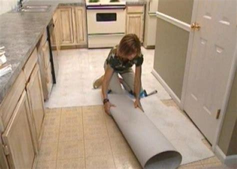 install  stick floor tiles  tos diy