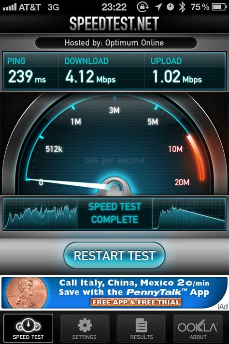 speed test iphone iphone ookla speedtest att jeffrey donenfeld