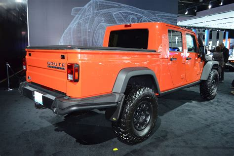 Updated Jeep Wrangler Pickup Confirmed By 2019