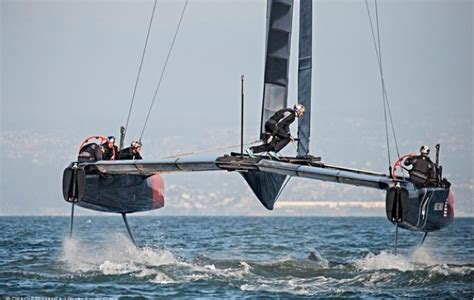 Ac62 Boat by America S Cup Panorama N 225 Utico
