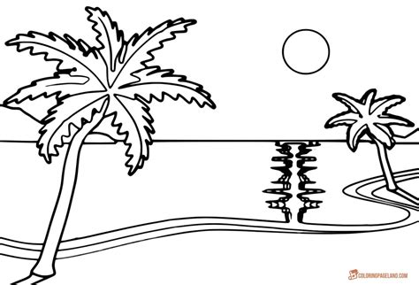 93 Beach Hat Coloring Page Mens Sun Blocking