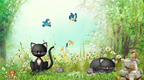 Whimsical Animal Wallpaper - whimsical wallpaper hd 4kwallpaper org
