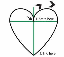 webbywanda.tv - How to Draw and Paint a Heart