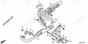 Honda Motorcycle 2020 Oem Parts Diagram For Muffler