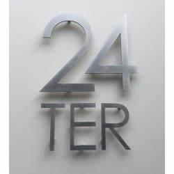 Numéro Maison Design : num ro de maison design et lettre originale en inox ~ Premium-room.com Idées de Décoration