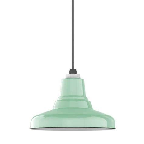 green kitchen pendant lights ivanhoe 174 union porcelain steel shade pendant barn light 4021