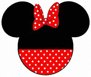 free printable minnie mouse bow template - minnie mouse head templates clipart best