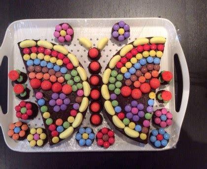 cuisine recette dessert gâteau d 39 anniversaire en forme de papillon recette de